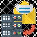 Data Storage Data Copy Database Storage Icon