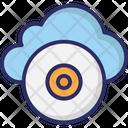 Cloud Cd Cd Dvd Icon