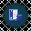 Data Storage External Storage External Memory Icon