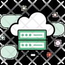 Data Storage Data Server Data Center Icon