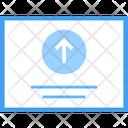 Data Storage Data Uploading Online Uploading Icon