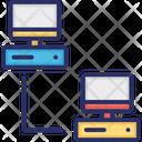 Data Storage Data Store Data Transfer Icon