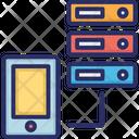 Data Storage Ios Ipad Data Storage Iphone Icon