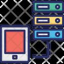 Data Storage Ios Ipad Data Storage Ipad Hosting Icon