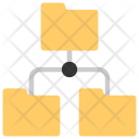 Data Information Sharing Icon