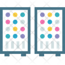 Servers Magnetic Stacked Icon