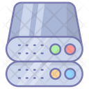 Data Storage Database Server Icon
