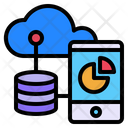 Storage Data Base Mobile Icon