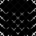 Data Storage Network Safe Icon