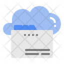 Data Storage Cloud Icon