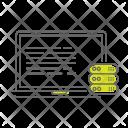 Data Storage Server Icon
