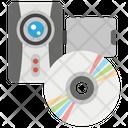 Data Storage External Storage Disk Icon
