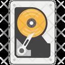 Data Storage Hard Disk Peripheral Device Icon