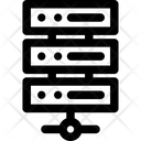 Data Storage Connection Icon