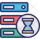 Data Storage Processing Icon