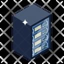Dataserver Database Data Storage Rack Icon