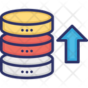 Data Storage upload Icon