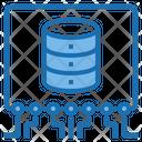 Data Structure Big Data Blockchain Icon