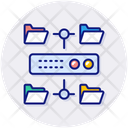 Data Structure Connection Data Icon
