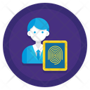 Data Subject Data Fingerprint Icon