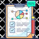 Data Survey Data Examination Inspection Icon