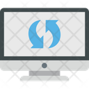 Backup Data Sync System Sync Icon