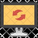 Data Sync Data Exchanging Data Sharing Icon