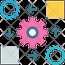 Exchange Mobile Data Icon