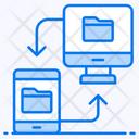 Data Synchronization Data Transfer Data Transformation Icon