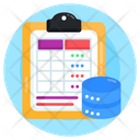Db Table Data Table Database Table Icon