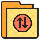 Exchange Folder Data Tarnsfer Icon