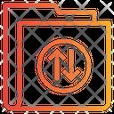 Exchange Folder Data Tarnsfer Icon