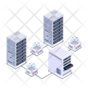 Data Network Data Hosting Data Technology Icon