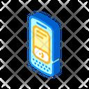 Data Terminal Isometric Icon