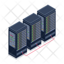 Data Racks Data Towers Servers Icon