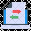 Data Transaction Icon