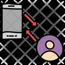 Data Transfer Information Transfer Data Synchronization Icon
