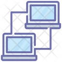 Data Transfer Sharing Devices Data Sharing Icon