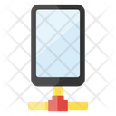 Data Transfer Mobile Network Connected Device Icon