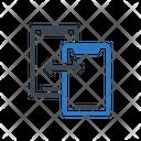 Filesharing Datatransfer Exchange Icon