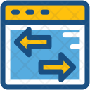 Data Transfer Arrows Icon
