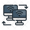Data Transfer Data Storage Icon