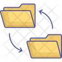 Data Conversion Data Exchange Data Migrate Icon