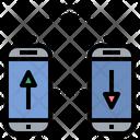 Smartphone Wifi Transfer Icon