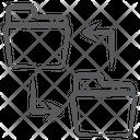 Data Transfer Data Move Copy Data Icon