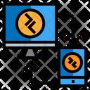 Remote Desktop Network Remote Computer Icon