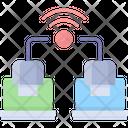 Data Transfer Analysis Sync Icon
