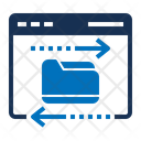 Data Transfer Bluetooth Data Icon