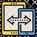 Data Transfer Transfer Network Icon