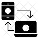 Data Transfer Data Exchange Data Share Icon